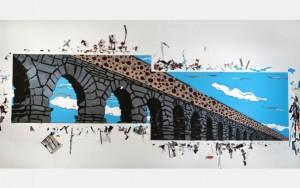 "Joe Girandola's ""monumental"" works in duct tape."