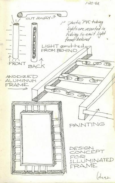 Brian Cote, Design concept for illuminate frame