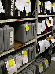 cameras in storage
