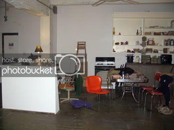 Publico's kitchen/front desk.
