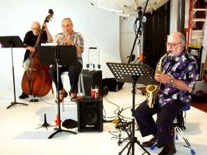 Jazz ensemble at the Photo Review Garden Party