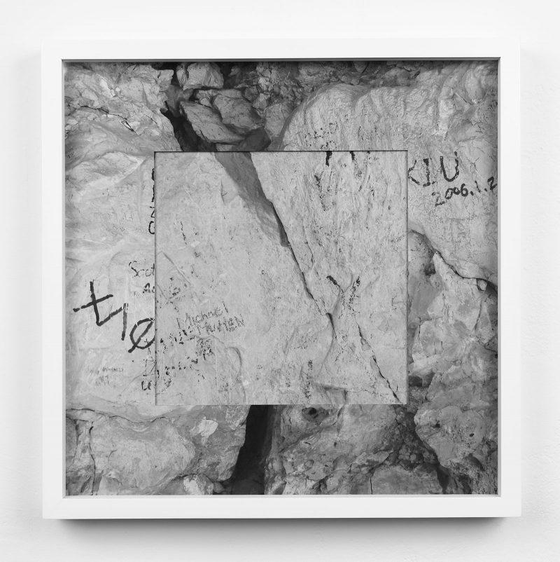 Micah Danges, Wall Writing (Grand Canyon), 2012