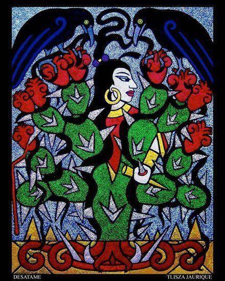 """Tlisza Jaurique, """"Desátame,"""" (Unravel Me), 2005."""