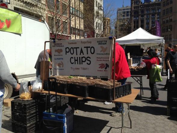 Potato Chips anyone?