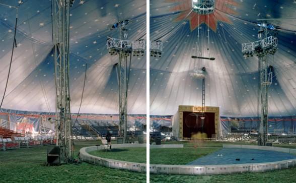 Richard Renaldi, The Big Top, Geneva, Ohio (2012)