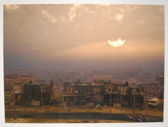 "Tim Portlock, ""Sunrise-the extended constructivists re-render."""