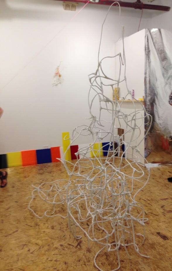 Kirk McCarthy, linear sculpture