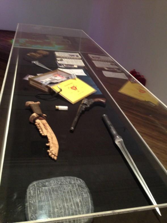 Supernatural, installation detail, by Beth Heinly, Kelsey Morse-Brown, Oz Deshaw and Scott Wheelis