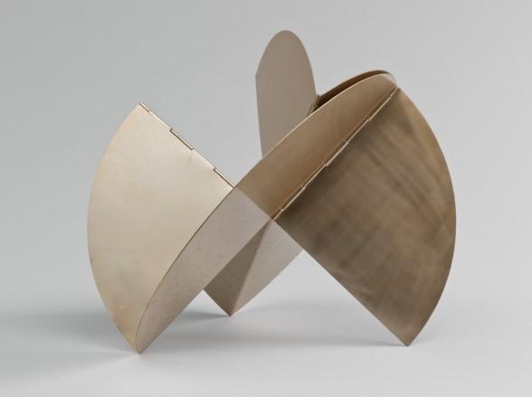 """Lygia Clark. Relógio de sol (Sundial). 1960. The Museum of Modern Art, New York. Courtesy Associação Cultural """"O Mundo de Lygia Clark,"""" Rio de Janeiro."""