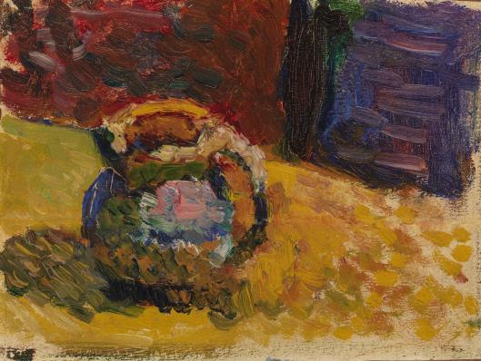 Henri Matisse 'Small Jar' (1898) oil on paper, Barnes Foundation.