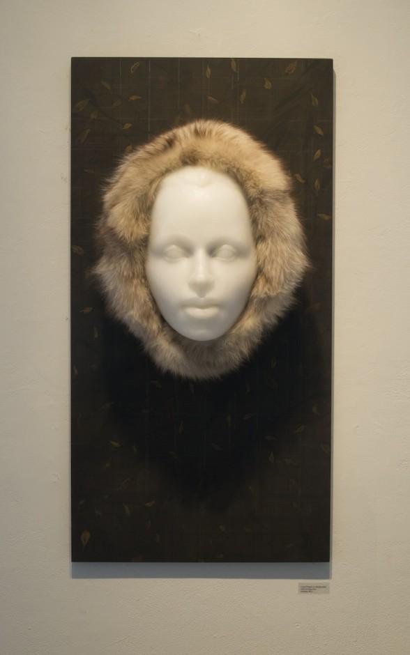 "Caroline Furr, ""Desire."" Laura Frazure-sculpture, Caroline Furr-painting. Photo courtesy of the artist."