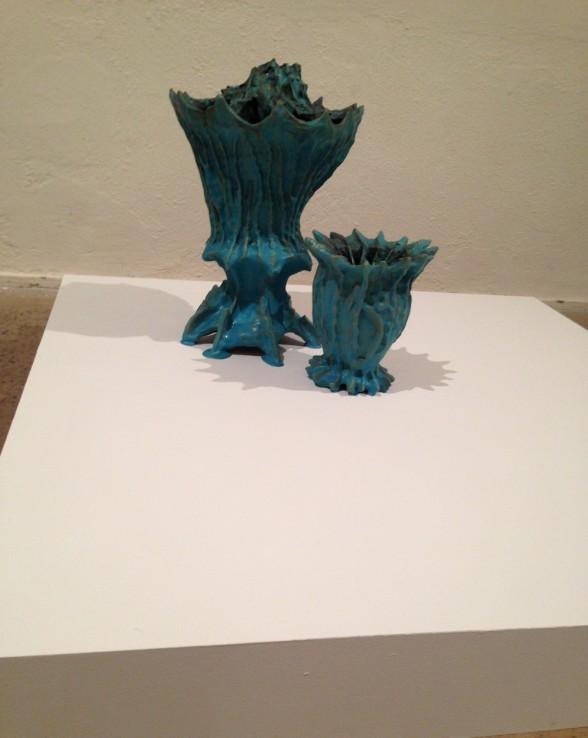 """Paul Swenbeck, Untitled 2014, ceramic 30x36x20"""""""