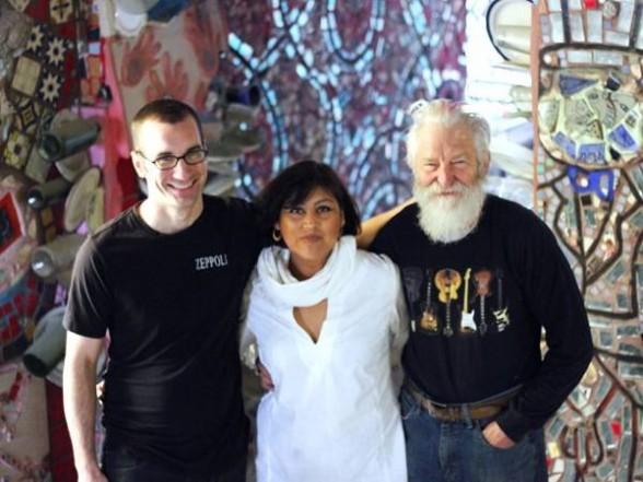Ben Miller, Christina Martinez, and Isaiah Zagar.