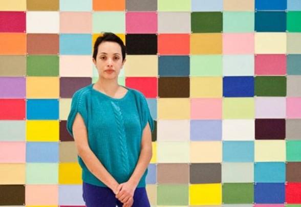 Amanda de la Garza, curator at MUAC, Mexico City. Image via Artnet.
