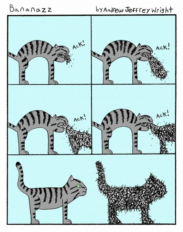 comic of cat