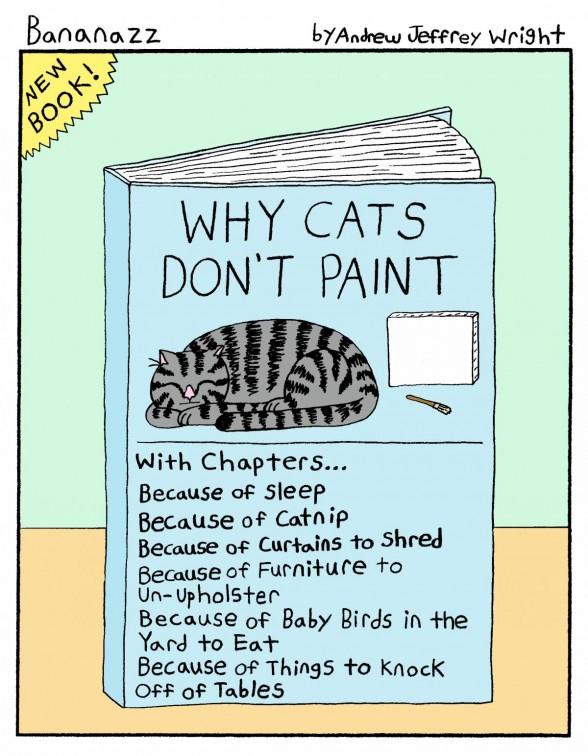 comic of cat book