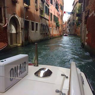 Via Instagram, the boat-cum-floating conversation platform of the Sarafina Project. Photo courtesy of Alserkal Avenue.