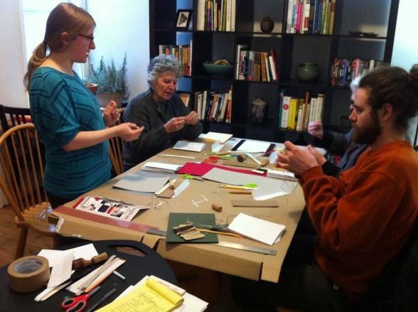 Book binding class