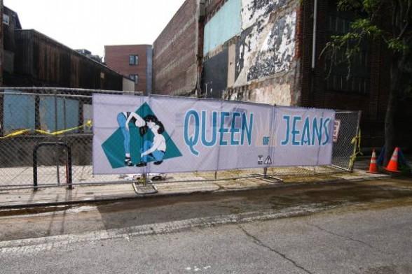 Philly's latest bit of street art magic, courtesy of Kid Hazo.