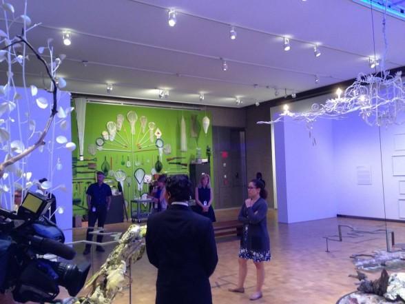 art museum installations