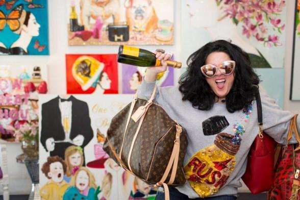New Orleans artist Ashley Longshore. Image via Forbes.