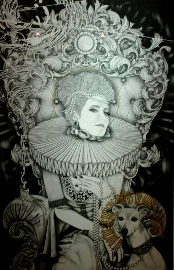 Rodrigo Borges' Milady in Summer Reading List at Arch Enemy Arts.