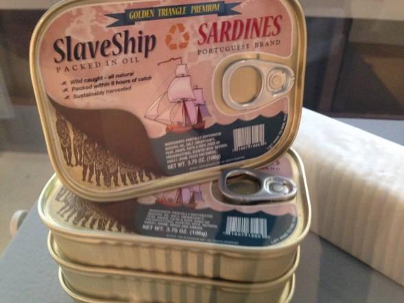 altered sardine cans