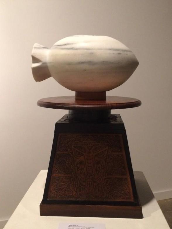 H. D. Ivey sculpture