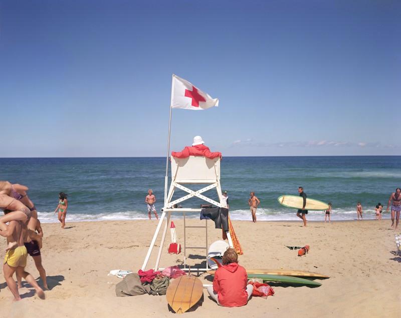 Joel Meyerowitz, Ballston Beach, Truro, 1976