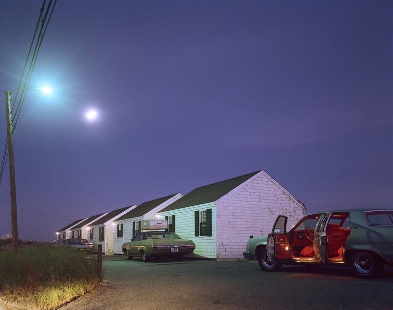 Joel Meyerowitz, Red Interior, Provincetown, 1977