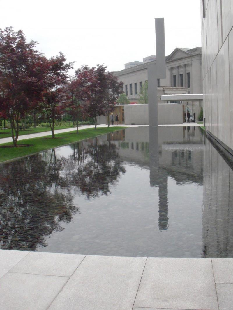 Ellsworth Kelly sculpture at Barnes Foundation.