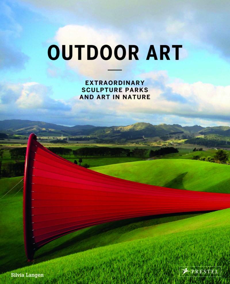 Book Cover, Outdoor Art von Silvia Langen, courtesy Prestel Publishing