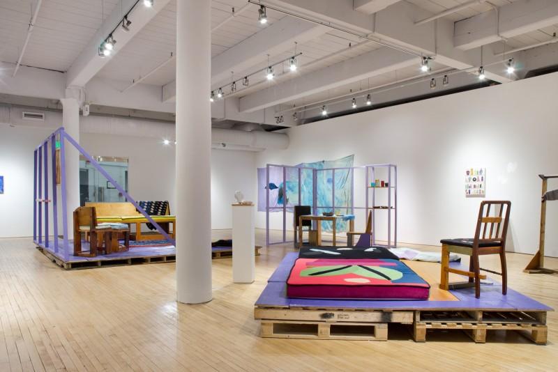 Chris Johanson and Johanna Jackson Installation House of Escaping Forms