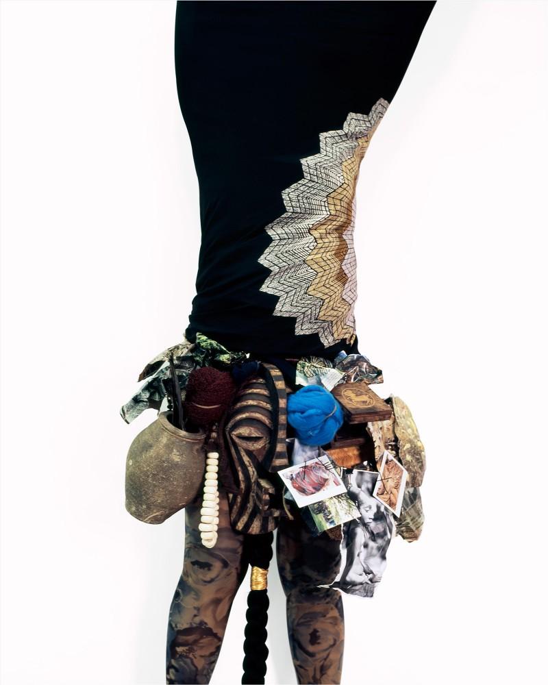 "Xaviera Simmons, Index Five/Composition OneColor photograph, 50"" x 40""; 2013; image courtesy of David Castillo Gallery"