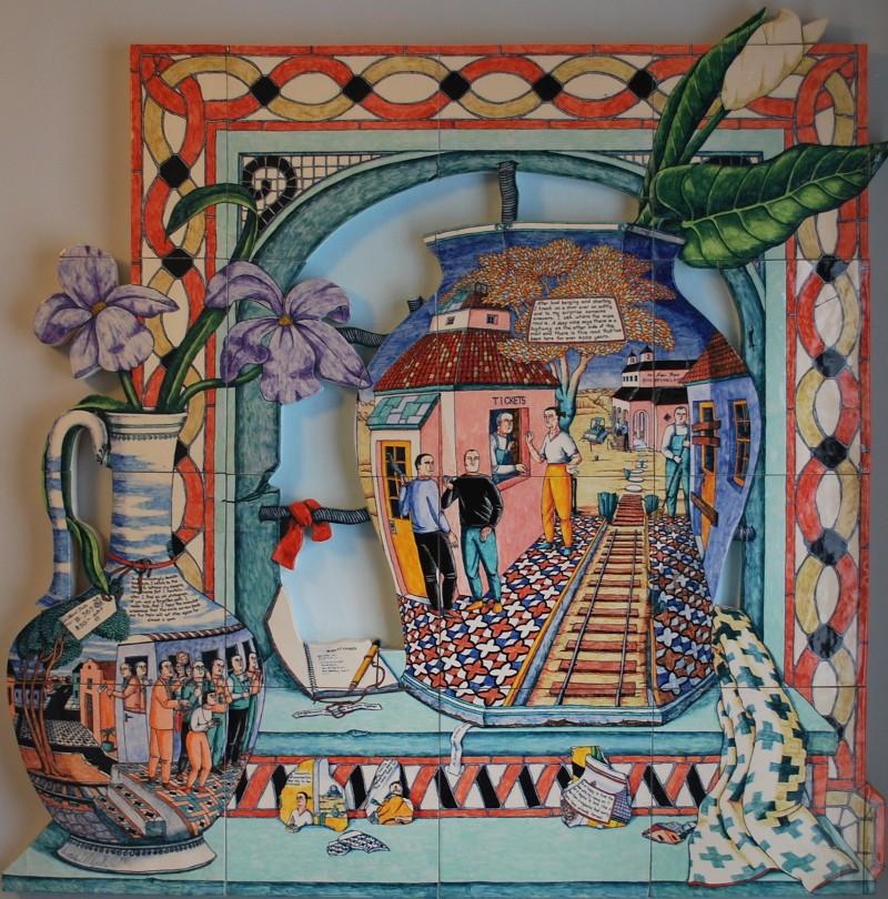 anne kraus new shopping land ceramic lifes journey