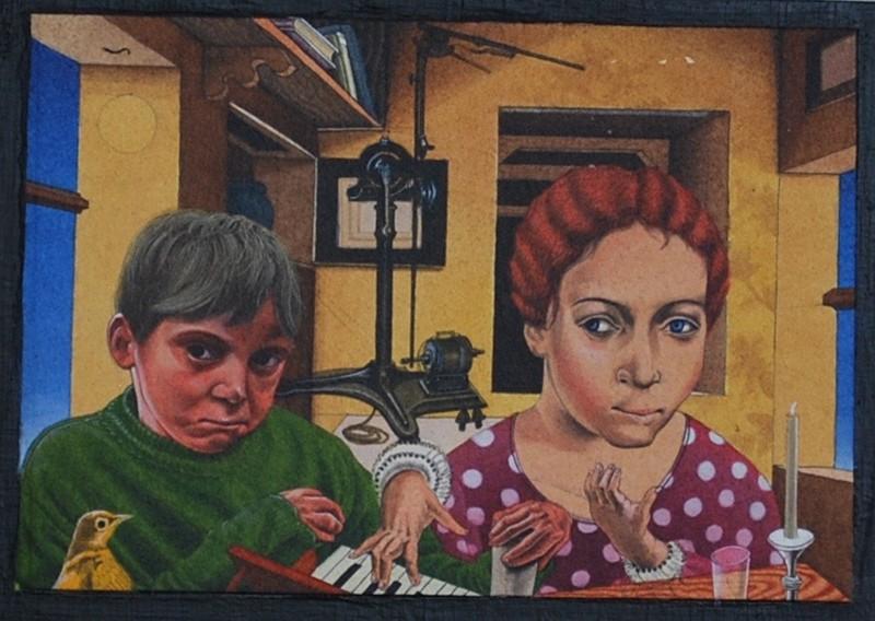 eric stotic untitled painting lifes journey
