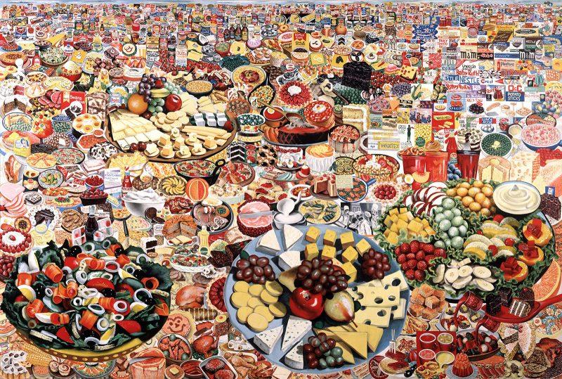 erro foodscape painting pma international pop