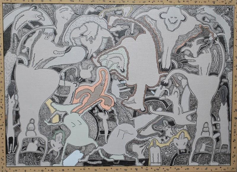 gladys nilsson semisighmetricall painting lifes journey