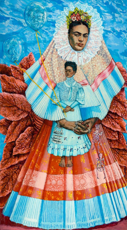 shirley gorelick frida kahlo the sister chapel painting