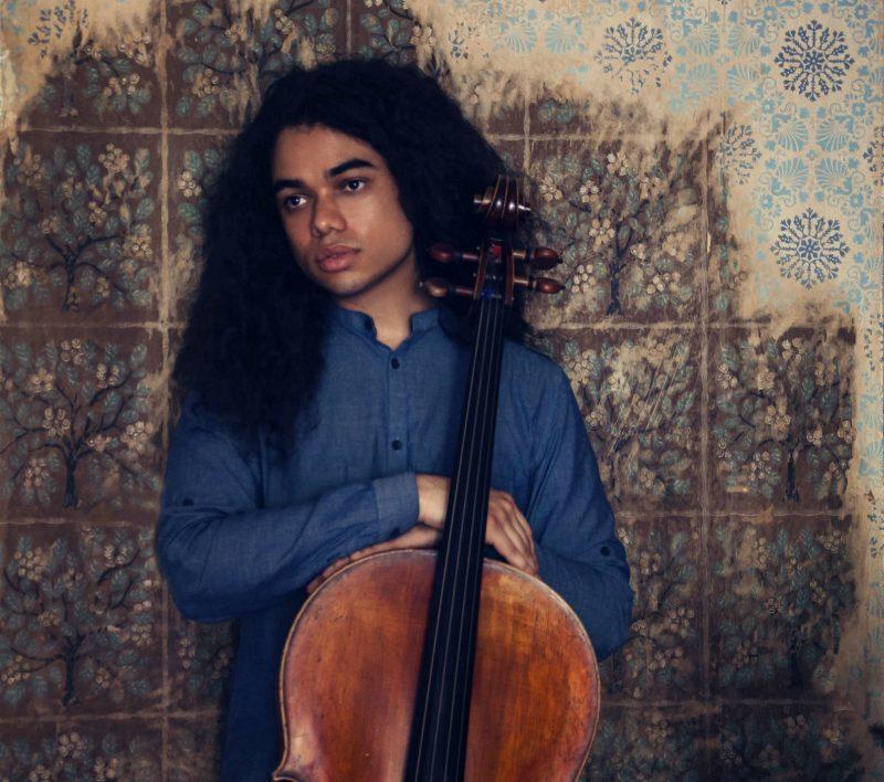 daniel de jesus with cello portrait