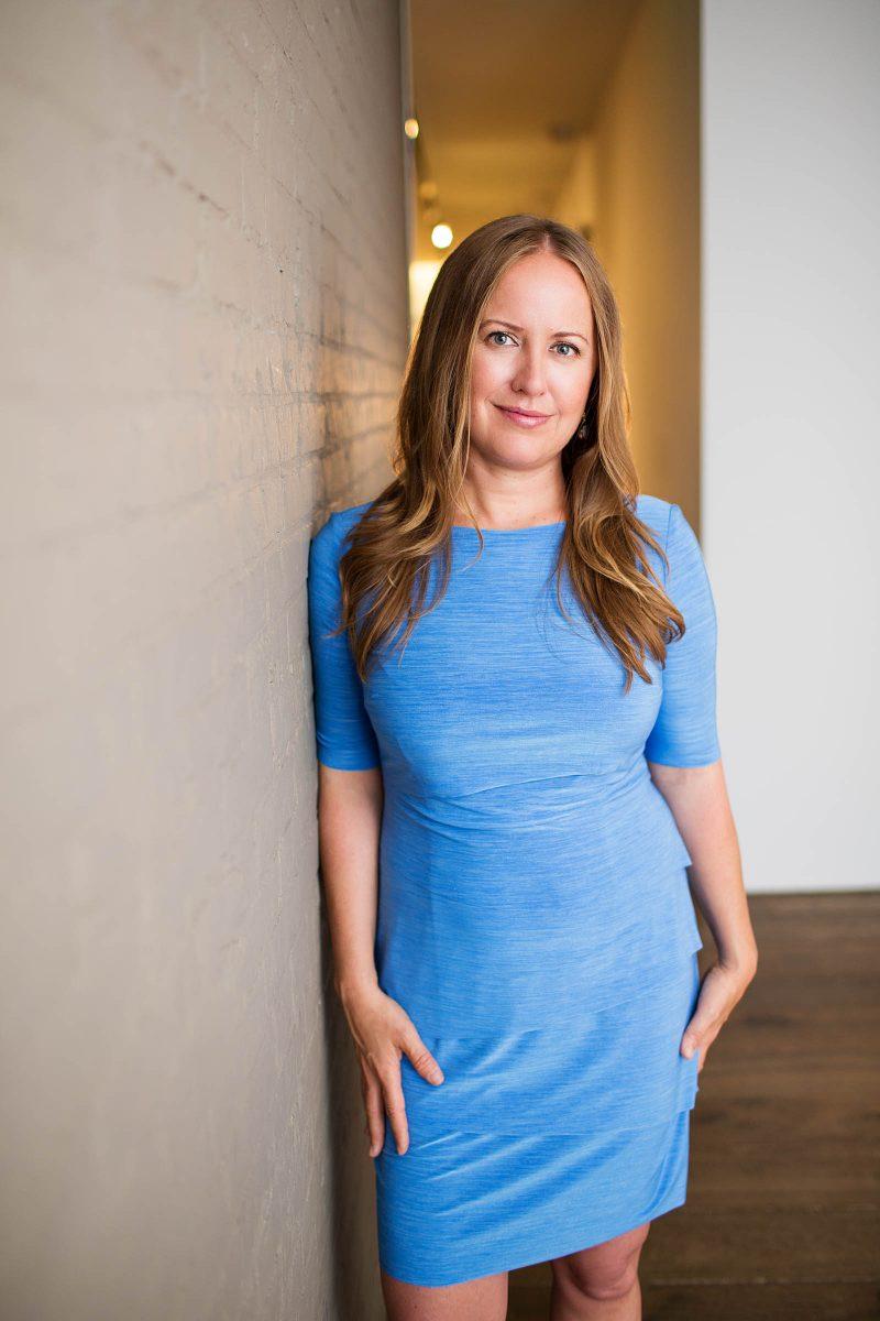 Bridgette Mayer, gallery owner