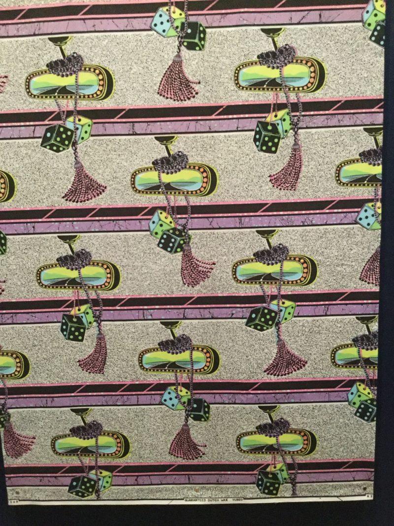 fabric design by Vlisco