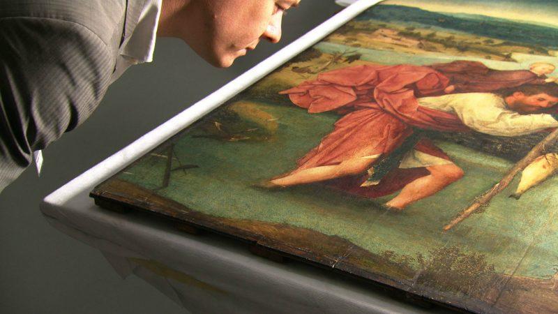 Matthijs Ilsink, art historian – Saint Christopher, 1490 – 1505 Rotterdam - Museum Boijmans Van Beuningen.