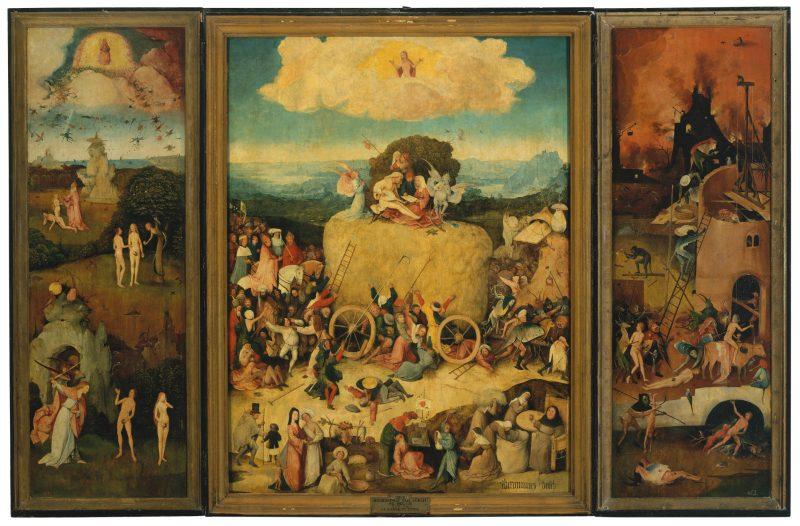 Hieronymus Bosch, The Haywain, ca. 1500