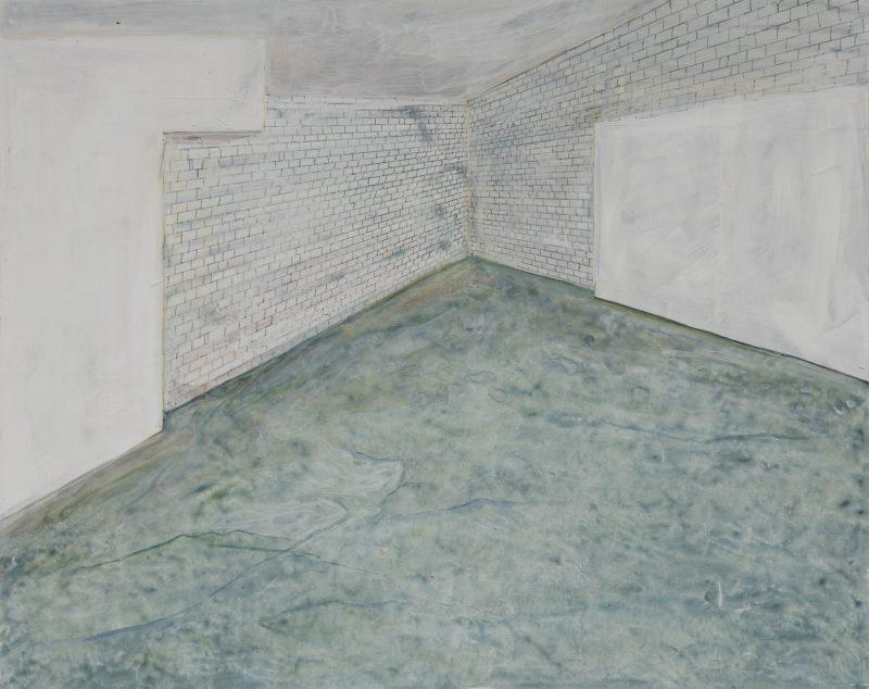 empty studio painting sarah mceneaney