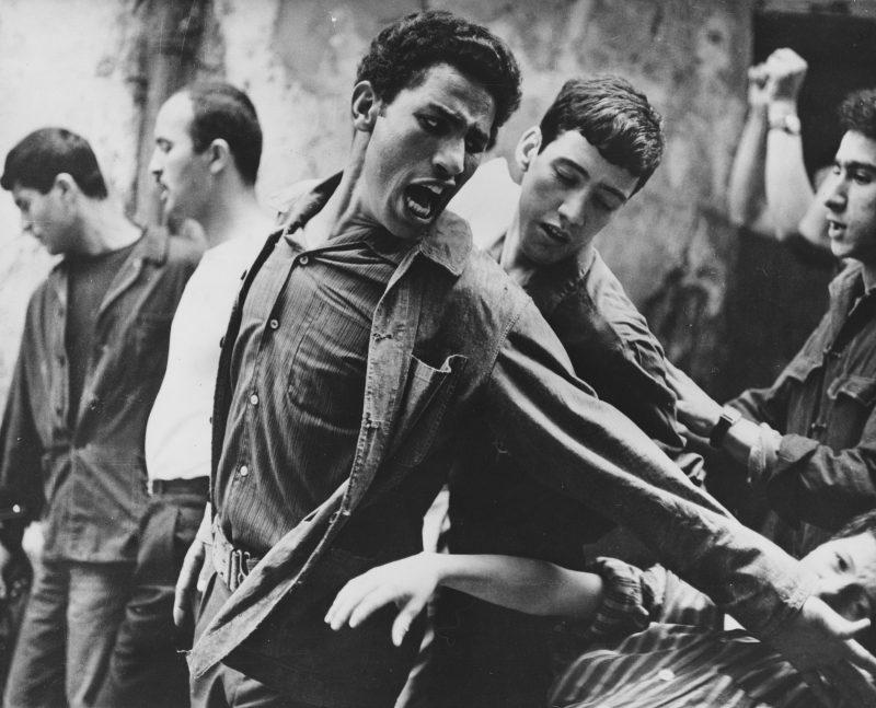 Brahim Haggiag in Gillo Pontecorvo's THE BATTLE OF ALGIERS (1966). Courtesy: Rialto Pictures