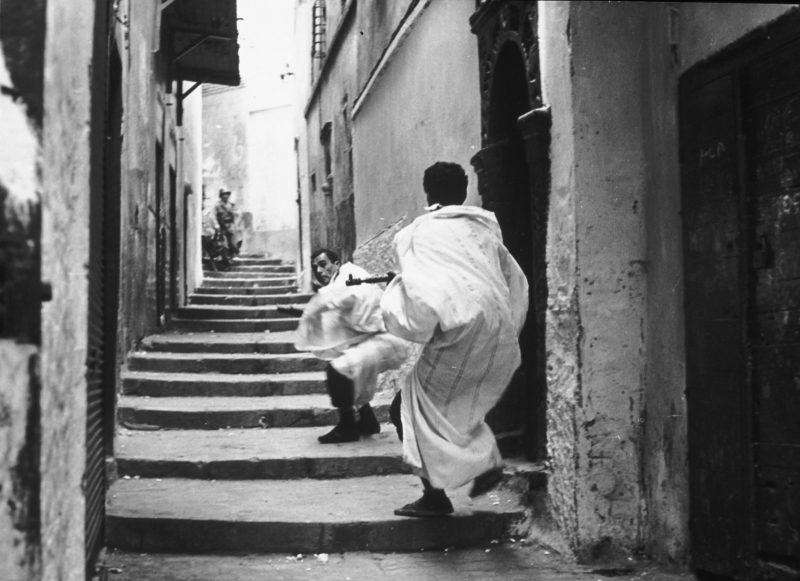 A scene from Gillo Pontecorvo's THE BATTLE OF ALGIERS (1966). Courtesy: Rialto Pictures