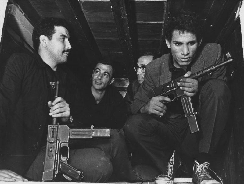 Saadi Yacef and Brahim Haggiag Gillo Pontecorvo's THE BATTLE OF ALGIERS (1966). Courtesy: Rialto Pictures