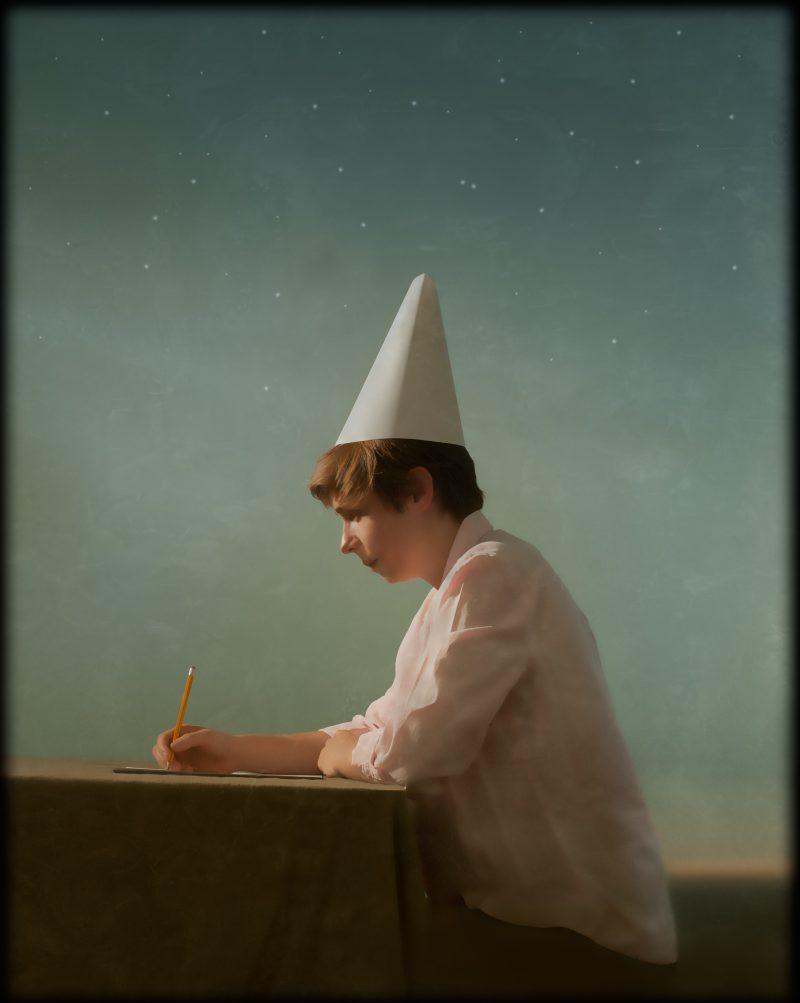 Andrew Pinkham, portrait