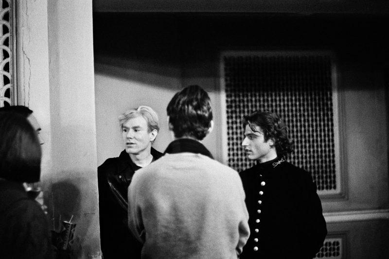 Photo of Andy Warhol and Gerard Malanga in Philadelphia